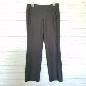 Nike Dri-FIT pants workout Gray size large